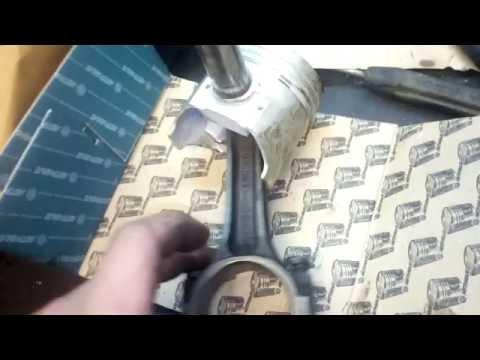 Установка поршней на шатуны в классике. ваз 2101-2121-2109