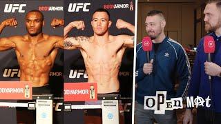 UFC 245 Open Mat episode three: Weigh-In recap, main-card predictions!