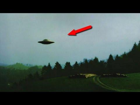 Удивительные объекты и НЛО, которые засняли на видео