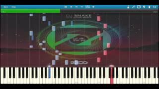 DJ Snake ft  Justin Bieber ~ Let Me Love You (Zedd Remix) Piano Arrangement