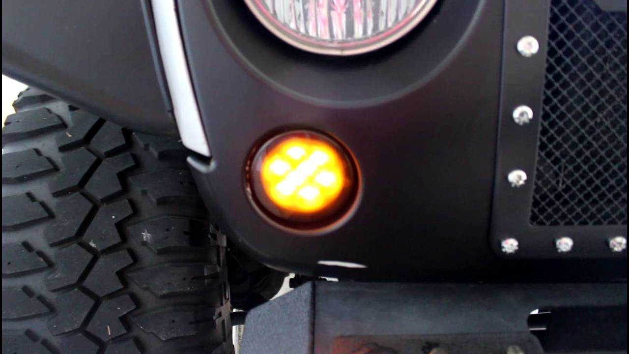 Quick View Of Front Turn Signal Led Smoked Lights For Jeep