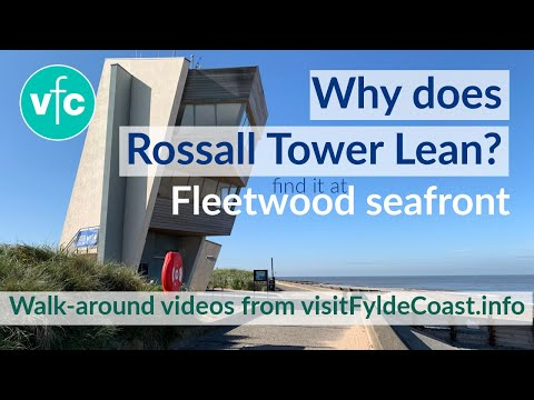 Rossall Tower on Fleetwood Seafront
