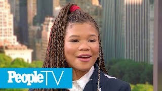 Storm Reid Reveals The One Thing About Oprah People Would Be Shocked To Know | PeopleTV