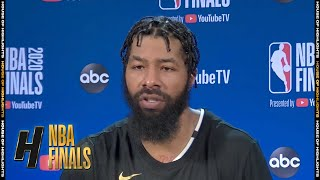 Markieff Morris Postgame Interview - Game 6 | Heat vs Lakers | October 11, 2020 NBA Finals