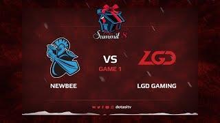 Newbee против LGD Gaming, Первая карта, Квалификация на Dota Summit 8