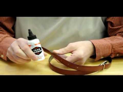 Bishs Original Tear Mender Leather Belt Repair