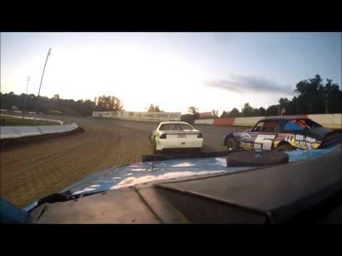 Batesville Motor Speedway 5-20-16 Hobby Stock heat race