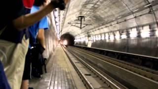 青函トンネル 貨物通過
