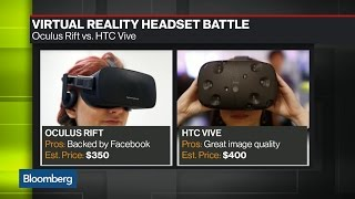 It's Oculus Rift vs. HTC Vive in the Battle of the VR Headsets