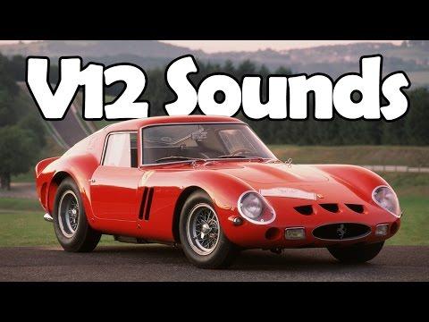 8 Marvelously Sounding V12 Engines