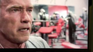 Arnold Schwarzenegger fitness motivation from the movie Sabotage