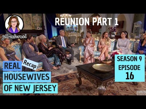 Real Housewives of New Jersey (Recap) Season 9 Episode 16 Reunion Part 1 (2019)