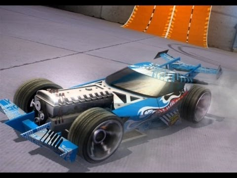 Hot Wheels World S Best Driver Xbox 360 Blue Team High Tech