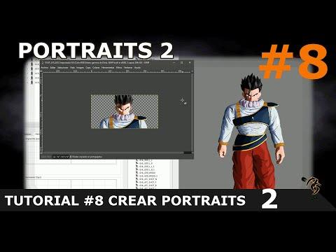 DRAGON BALL XENOVERSE 2 MOD: TUTORIAL #8 CREAR PORTRAITS CON Xenoviewer [ES/SP] thumbnail