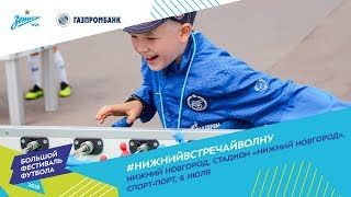 «Большой фестиваль футбола» на стадионе «Нижний Новгород»