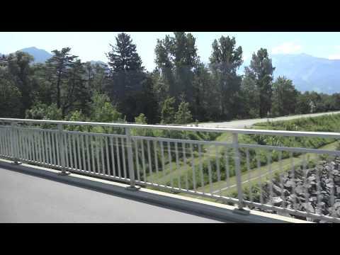 Ride on Liechtenstein bus to Vaduz