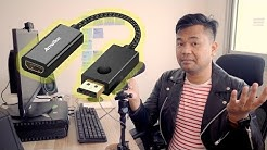 Unlock your graphics card ports with Anwike DP to HDMI Adapter