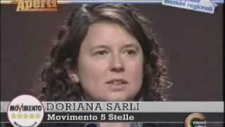 Doriana Sarli intervento A Occhi aperti Canale 21