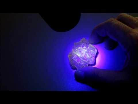 Fluorite under UV