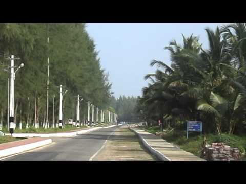 AIR FORCE ROAD OF CAR NICOBAR AS ON( 26- 01- 2014),ANDAMAN,INDIA