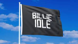 BILLIE IDLE(ビリーアイドル)の旗