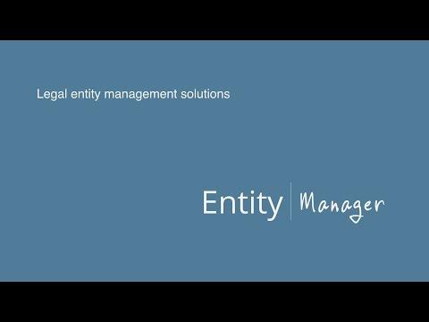 Legal Entity Management