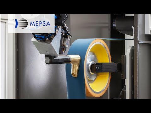 MEPSA - LRE2460F - Grinding Robotic Line for Faucets