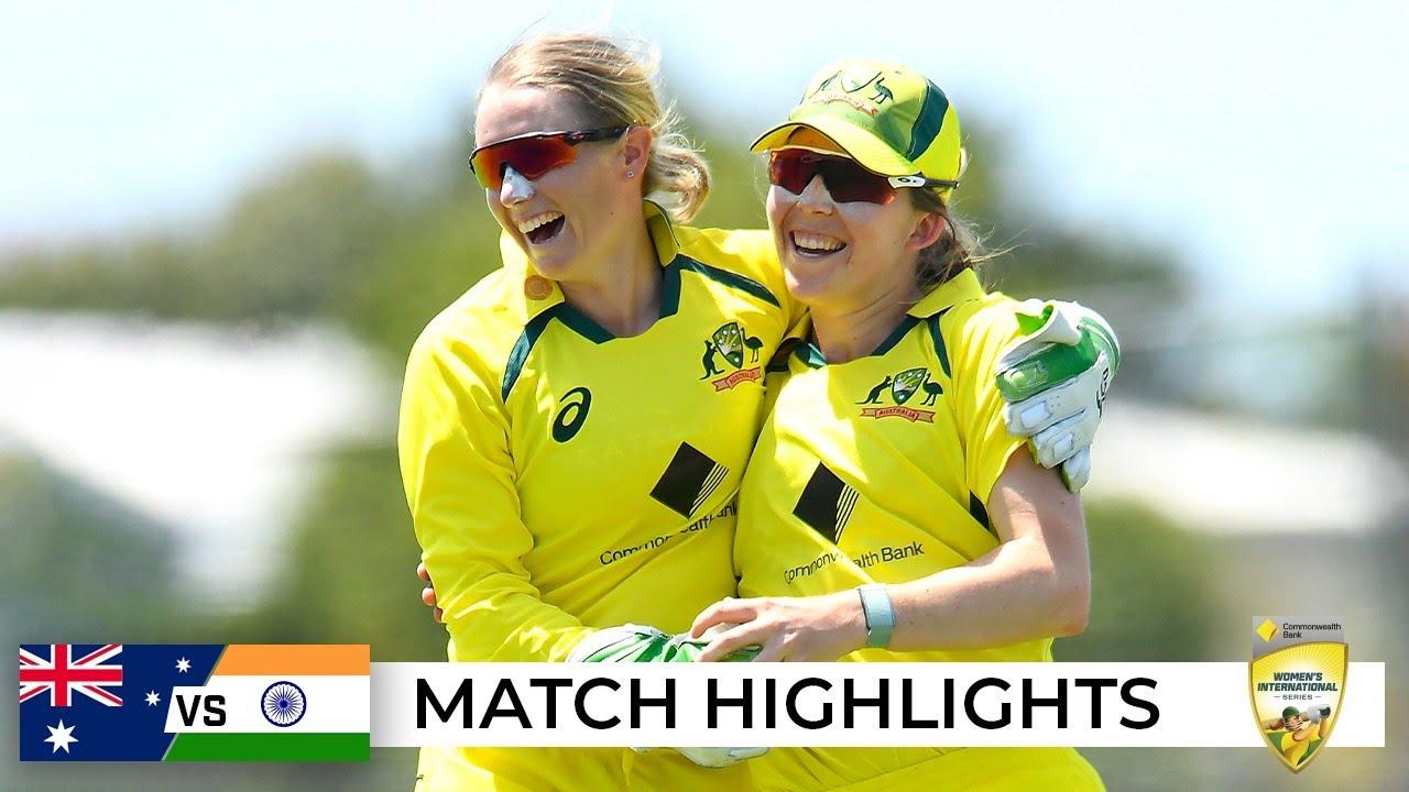 Download Australia cruise to victory in season-opening ODI | Australia v India 2021