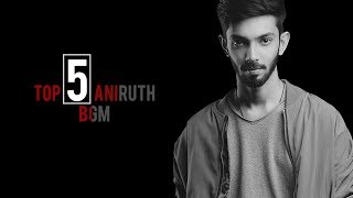 ANIRUDH TOP 5 MASS BGM