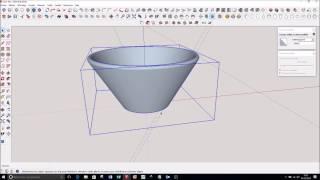 Video SketchUp : Pot, Verre, Vase  en 3 minutes avec Suivez moi pour impression 3D download MP3, 3GP, MP4, WEBM, AVI, FLV Desember 2017