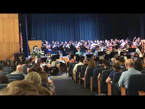 """Sweet Georgia Brown,"" arr. Lewis, New Hyde Park Memorial High School Junior Jazz Ensemble"
