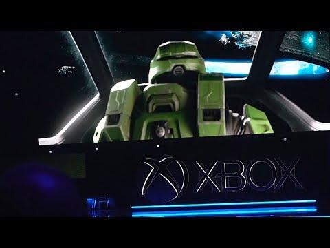 Halo Infinite E3 Crowd Reaction! - E3 2019