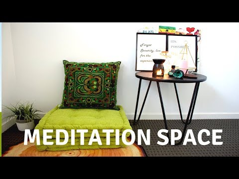 My Meditation Space | Spend The Day With Me