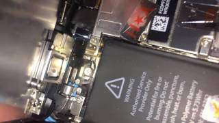 iPhone 5C восстановленный..., вскрываем