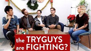 What is Making The Try Guys Fight?  [CC English & Español] | Kati Morton