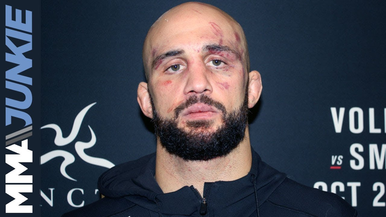 UFC Moncton: Volkan Oezdemir post fight interview