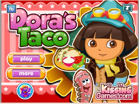 Online Dora The Explorer Games - Dora Cooking Games - YouTube