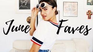 JUNE FAVORITES ♡ Skincare, Beauty, Fashion
