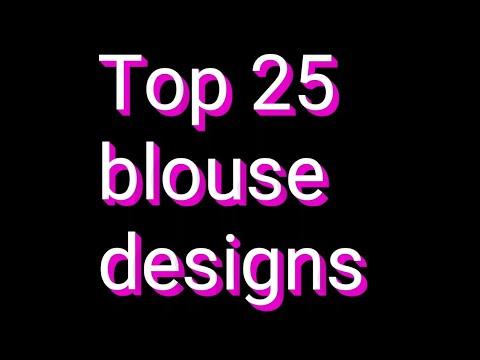 Top 25 blouse designs /blouse designs images /pic