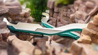 Adventure Island Tampa - Runaway Rapids (All Slides) 5 Body Slides Onride