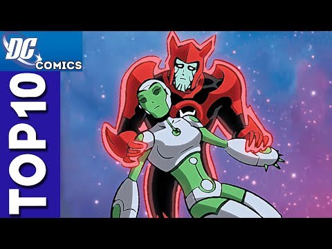 Top 10 Razer And Aya Moments From Green Lantern: The Animated Series