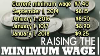 Minimum Wage Increase 2014