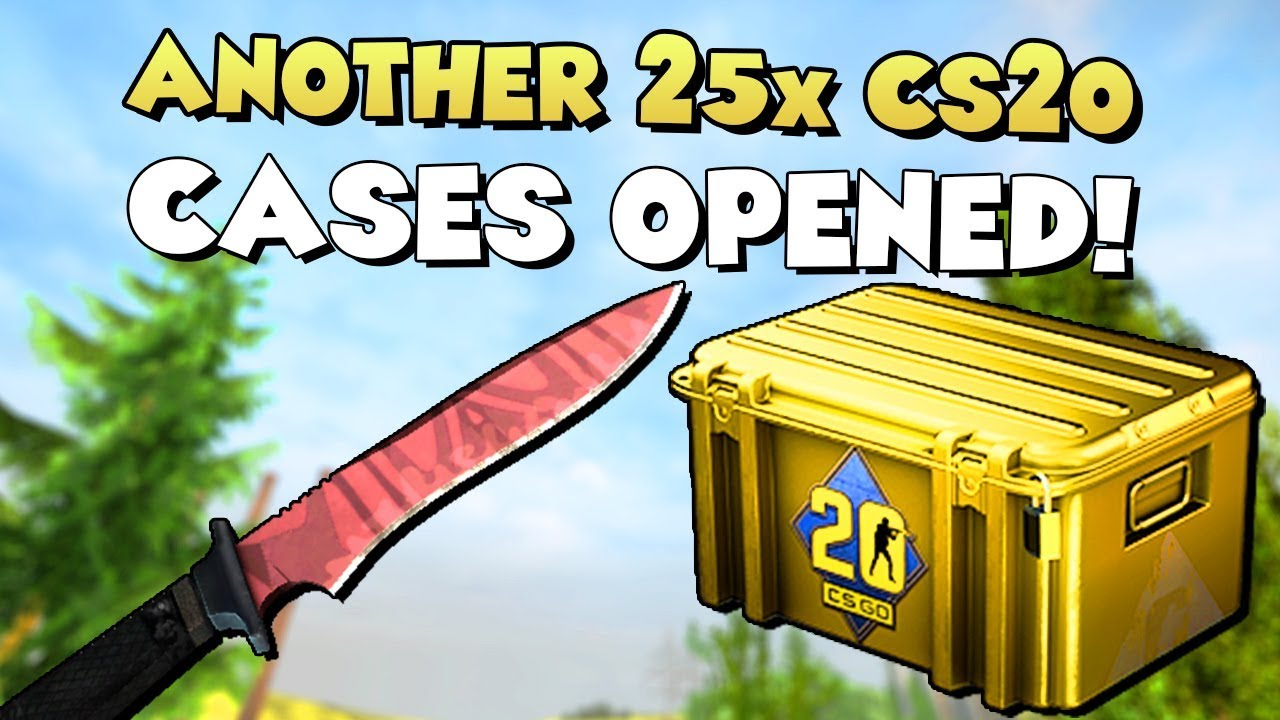 ANOTHER 25x CS20 CASES OPENED! 😅