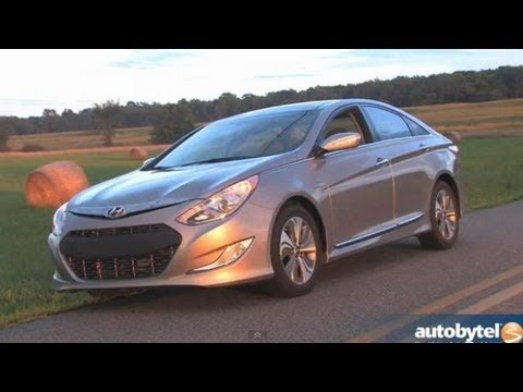 2013 Hyundai Sonata Hybrid W/ Blue Drive Test U0026 Car Video Review