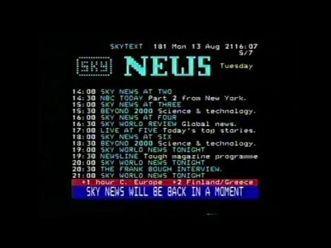 Sky News 1990