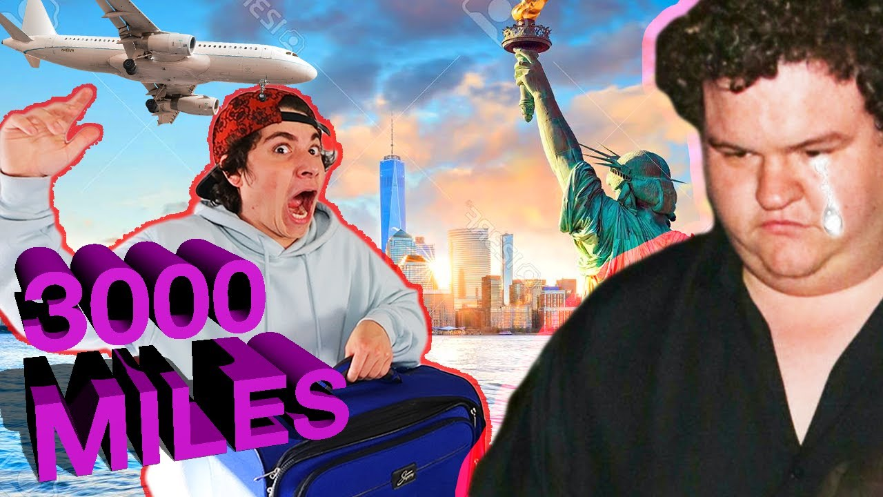Surprising Best Friend in NYC (Prank Gone Wrong) *bad idea*
