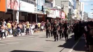 Desfile 4º BEC - Itajubá -  7 de Setembro