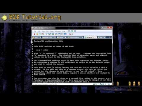 FreeBSD - Install PostgreSQL