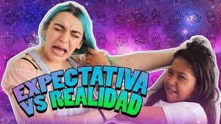 HERMANAS | EXPECTATIVA VS REALIDAD - SARA ANTONELLA FT SOFIA CASTRO 👧🏽🍪🧜🏻♀️