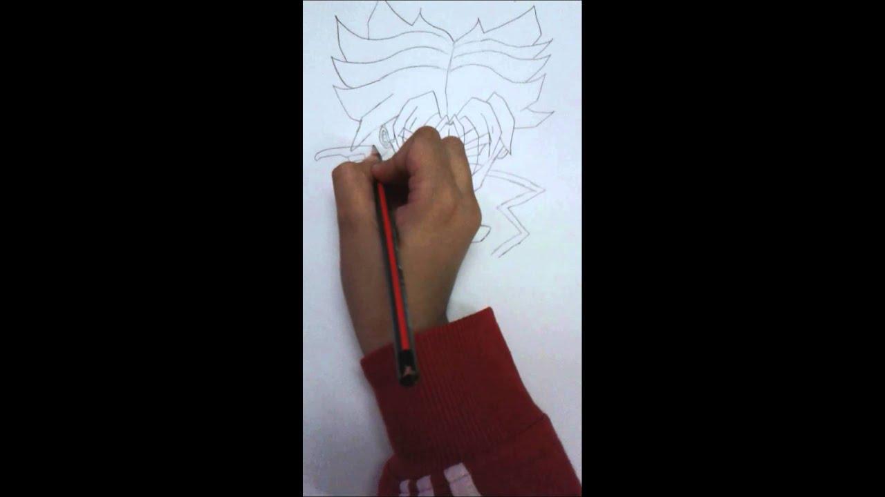 How to draw trunks comment dessiner trunks ssj1 youtube - Comment dessiner trunks ...